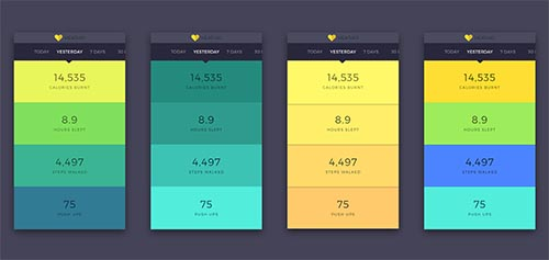 Fitness App Design - Healthio By Vishal Sharijay