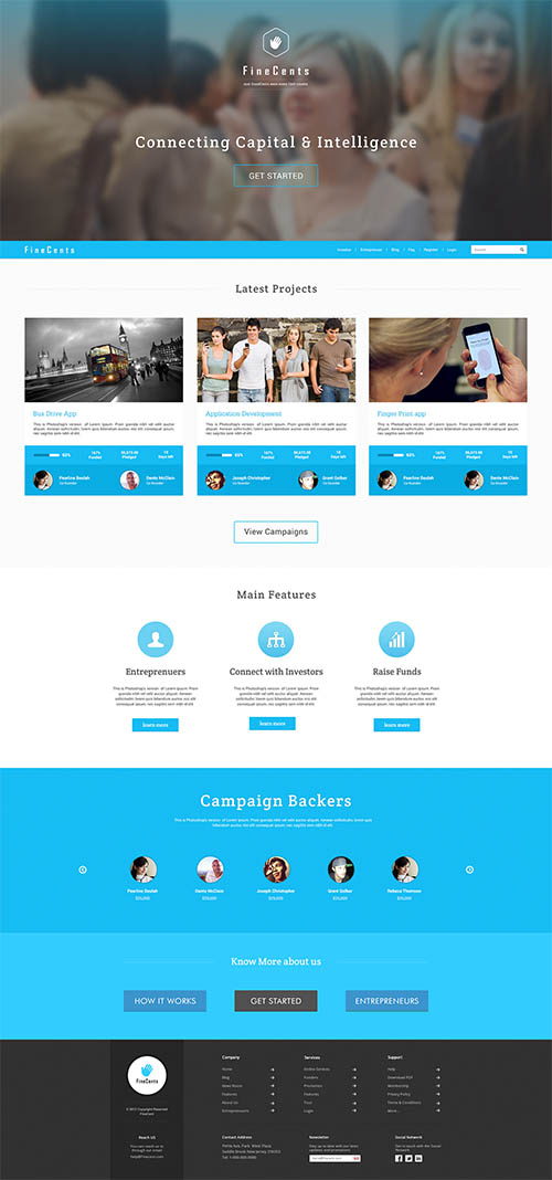 FineCents Web Design By Catalyst Concepts