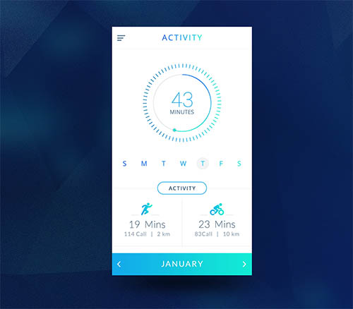 Fitness App Design By ASK Designs<