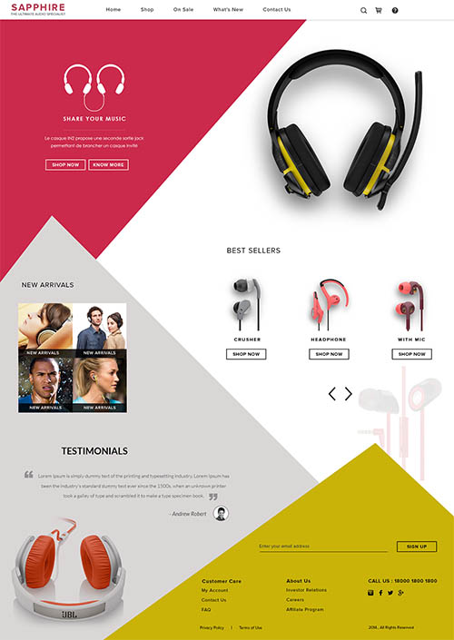 Head Phones Site By dinesh dino