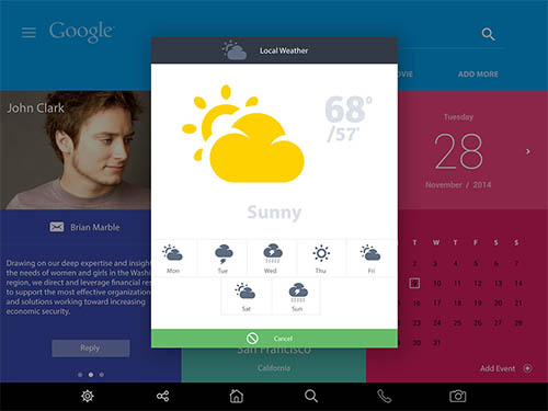 Random Mobile UI Designs By Nitin Bhatnagar