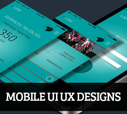 Web & Mobile UI UX Designs for Inspiration – 90