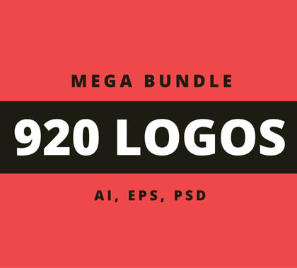 Post thumbnail of 900+ Amazing Logos Bundle Available in .AI & .PSD