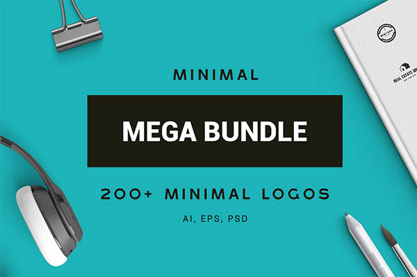 900+ Amazing Logos Bundle Available in .AI & .PSD - 2