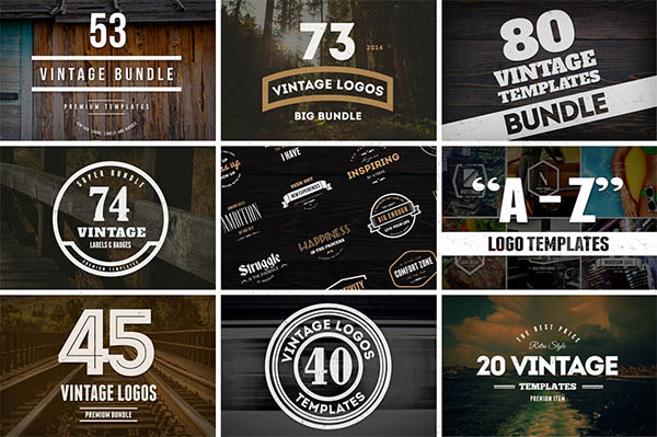 900+ Amazing Logos Bundle Available in .AI & .PSD - 9