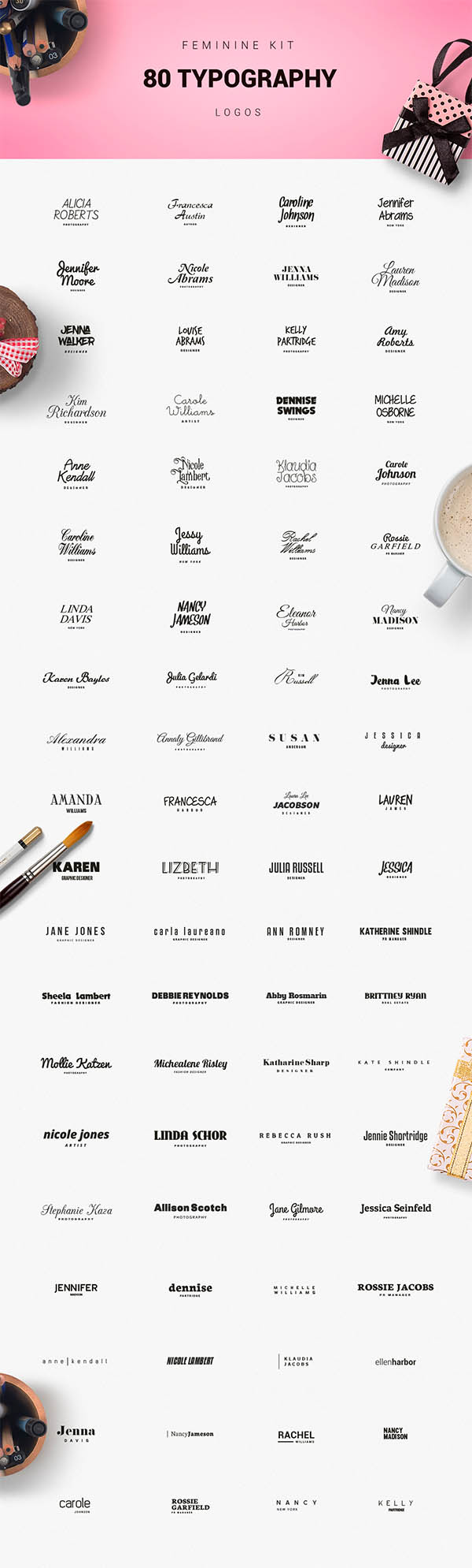 900+ Amazing Logos Bundle Available in .AI & .PSD - 15