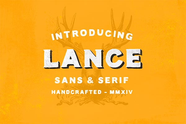Awesome Font & Texture Bundle for Designers - 8