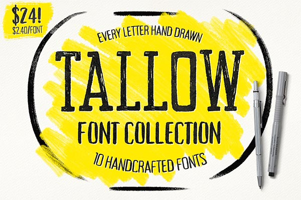 Awesome Font & Texture Bundle for Designers - 9