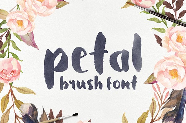 Awesome Font & Texture Bundle for Designers - 13