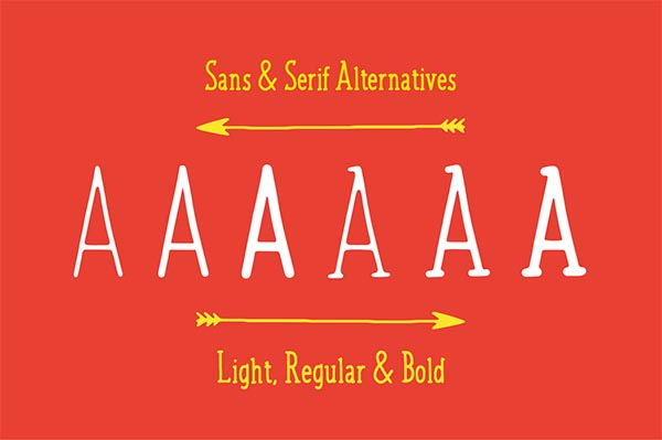 Awesome Font & Texture Bundle for Designers - 17