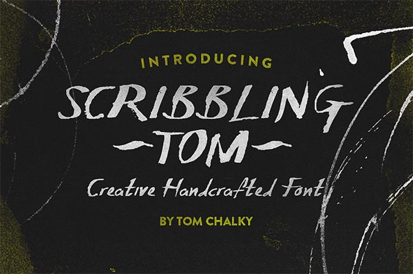 Awesome Font & Texture Bundle for Designers - 25