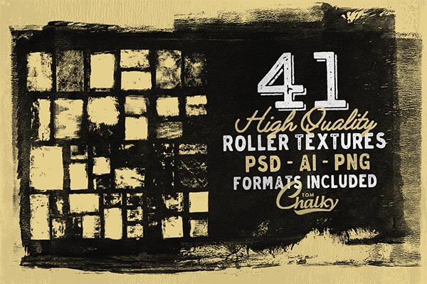 Awesome Font & Texture Bundle for Designers - 35