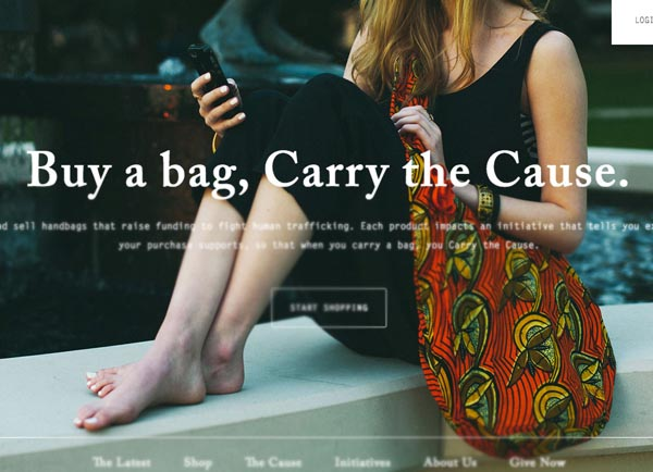 Ecommerce Web Design - 15 Fresh Examples