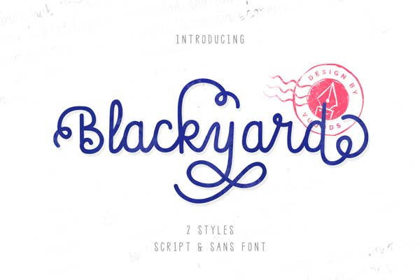 Free Stylish Fonts for Designers - 15