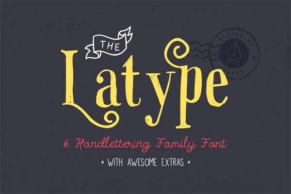 Free Stylish Fonts for Designers - 24