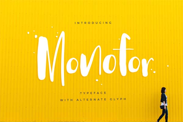 Free Stylish Fonts for Designers - 29