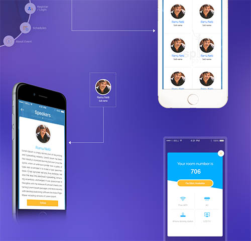 Mobile APP-UX UI Inspiration Interface interaction Flat By Nelli Ramu