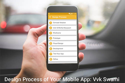 Design Process of Mobile App By vvk swami