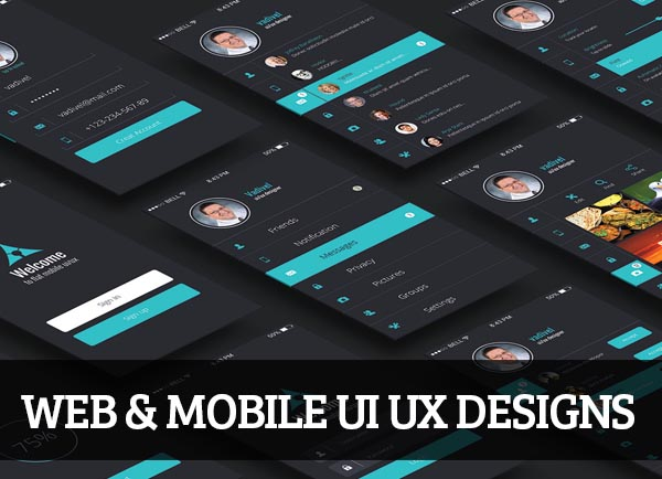 Web & Mobile UI UX Designs for Inspiration – 95