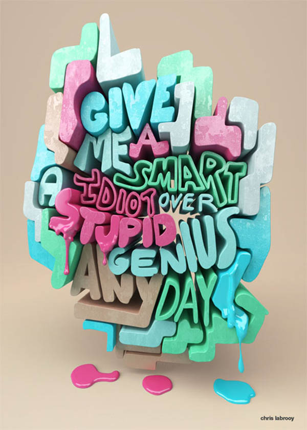 Fantastic Typography Designs – 15 Examples - 1