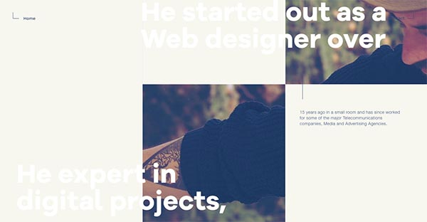Fresh CSS3 Website Designs – 14