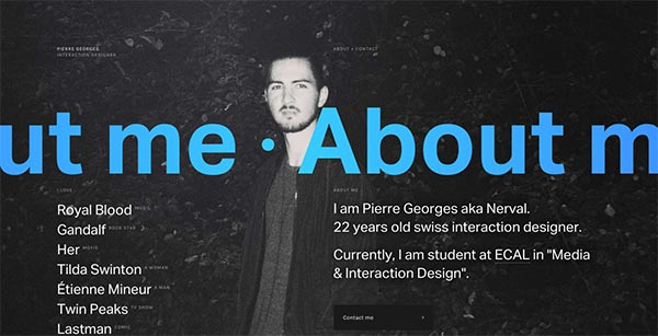 Fresh Flat Website Designs – 14