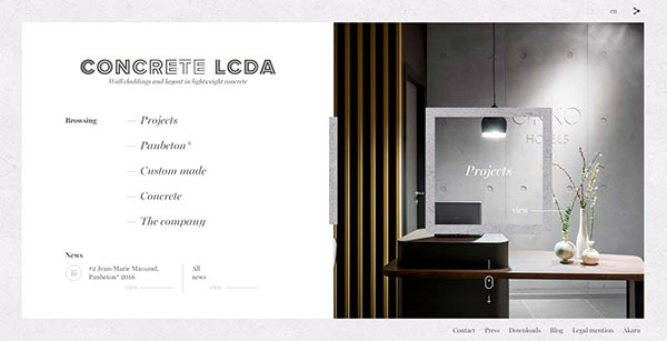 Concrete LCDA By Akaru