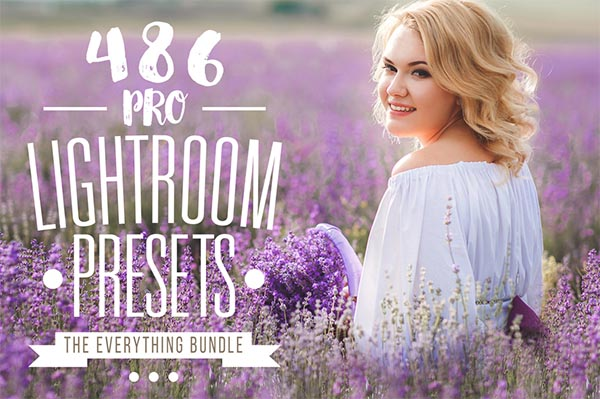 450+ Professional Lightroom presets for Photographers and Designers