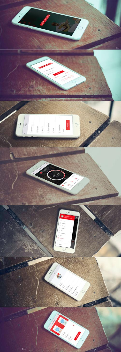 OOREDOO MOBILE APP By Dinesh Dino Eric