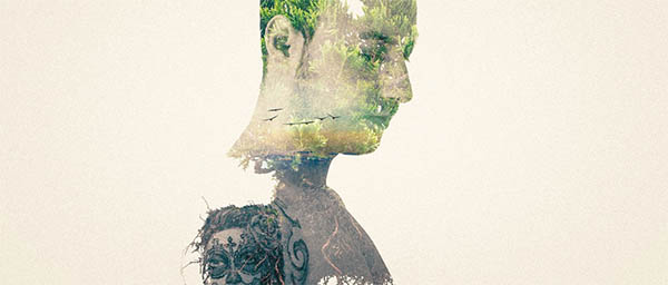 Double Exposure Portrait Effect