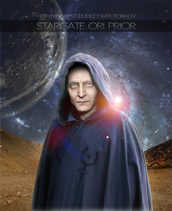 Stargate Ori Character Brought To Life In Photoshop