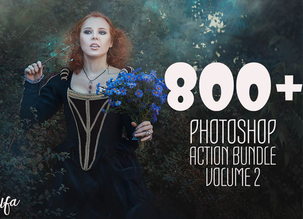 750+ Photoshop Actions for Photographers and Designers