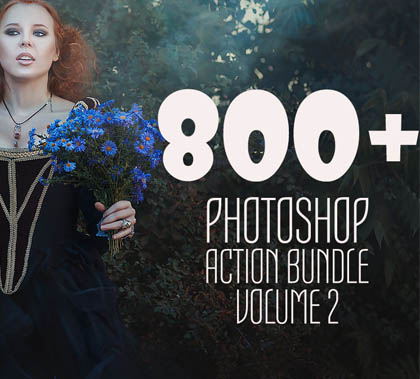 Post thumbnail of 750+ Photoshop Actions for Photographers and Designers