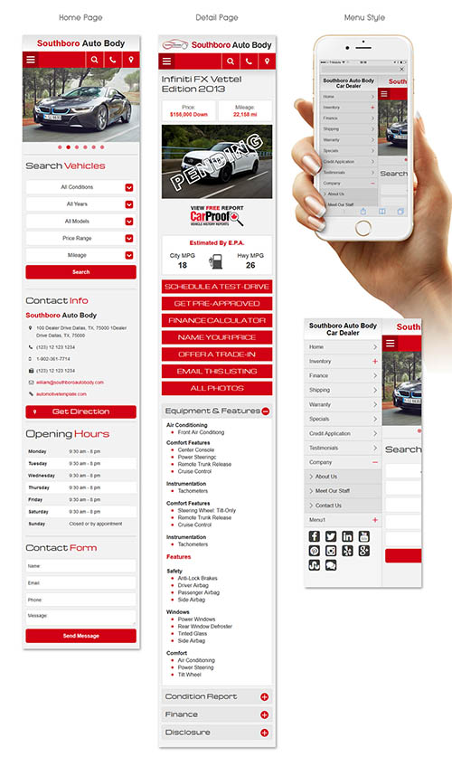 Car dealers mobile app By Irfan Nabi