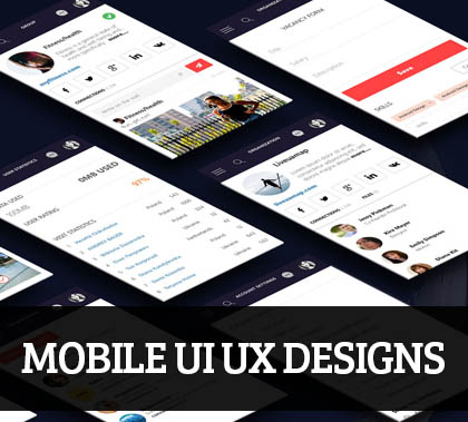 Mobile Apps UI UX Designs for Inspiration – 104