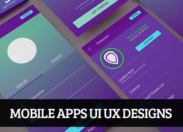 Mobile Apps UI UX Designs for Inspiration – 105