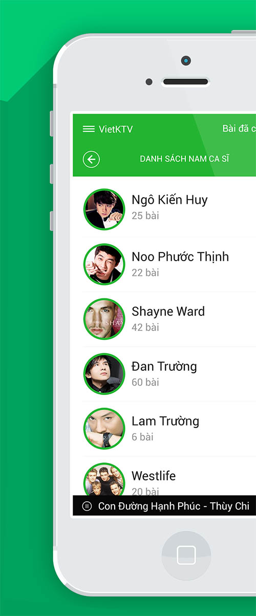 Vietnam KTV Remote IOS 7 APP By Ha Truong