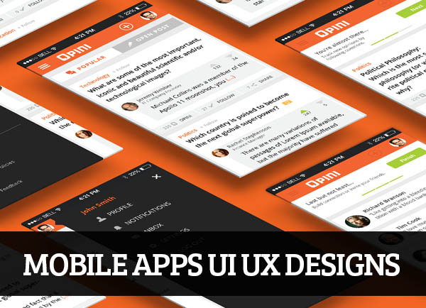 Mobile Apps UI UX Designs for Inspiration – 107