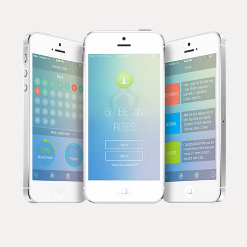 Mobile app for yoga exercises By Metodi Borisov