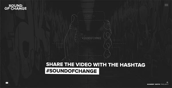 Sound of Change music label By Hungry Boys