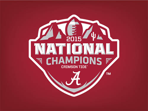 Alabama 2015 National Champions Logo Concept by David Port