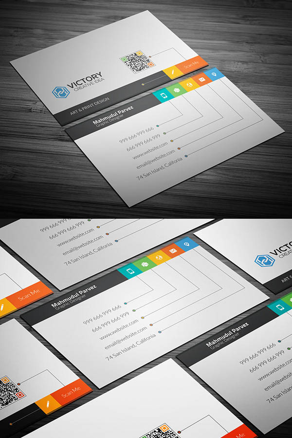 10 Best Business Cards PSD Templates for Designs | Graphics Design ...