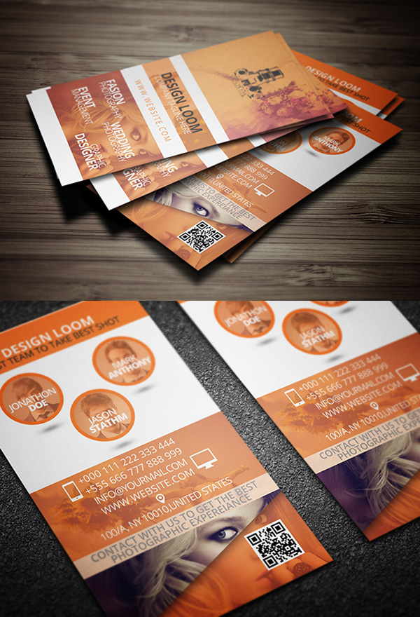Print Ready Photogrpahy Business Card Template Free