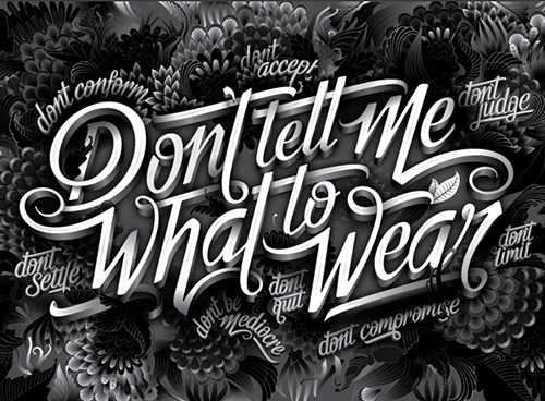 Don't tell me what to wear