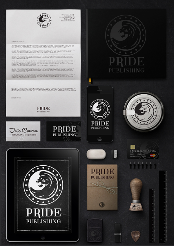 Pride Publishing Identity by Simon walsh