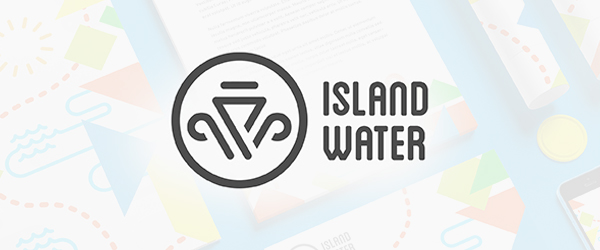 Island Water Branding by Nie Design