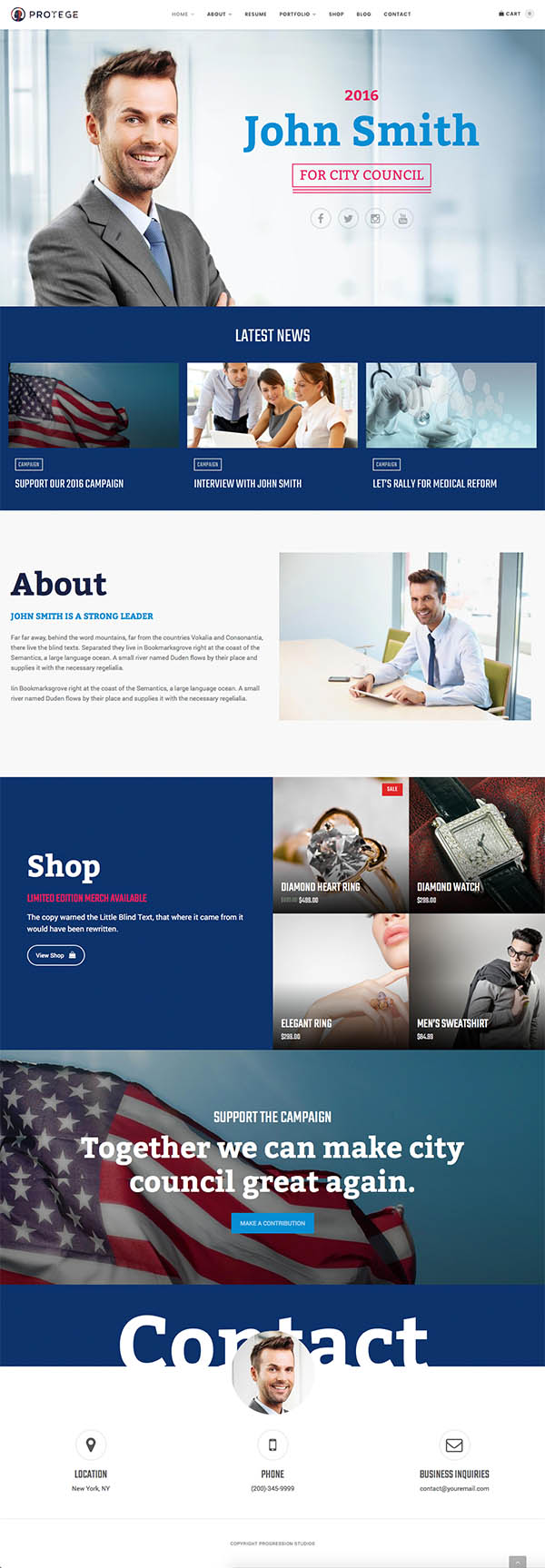 Protege – Single Professional Theme