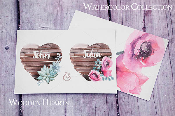 Watercolor Floral Elements for Graphic Designers - 17