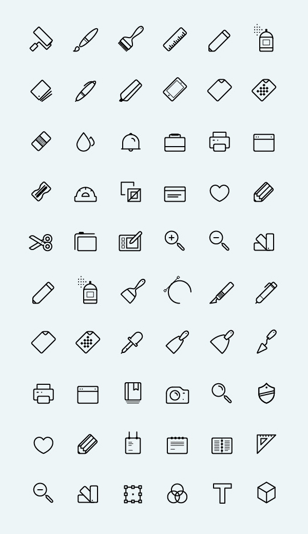 Free Vector Art Icons