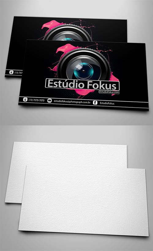 Creative Business Card Mockup PSD